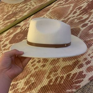 Free people flat brim hat